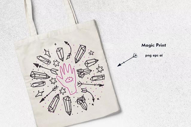 Hand Drawn Magic Doodle