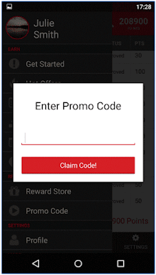 Grab points Promo code, earn money from mobile site