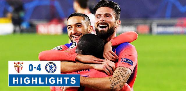 Sevilla vs Chelsea – Highlights