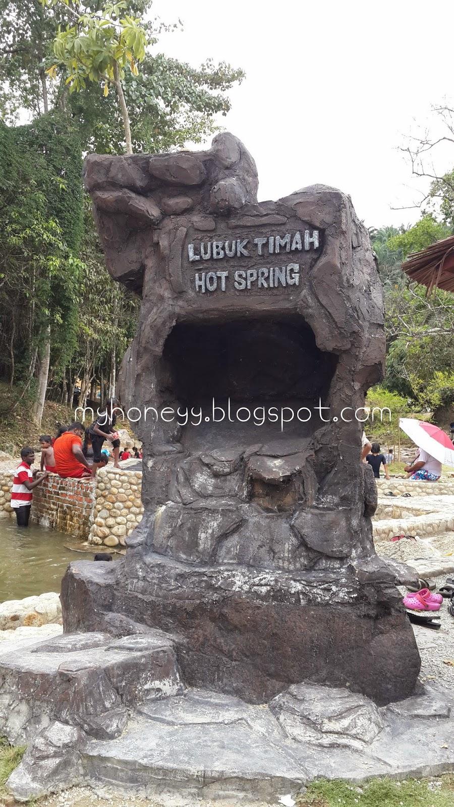 lubuk timah hot spring