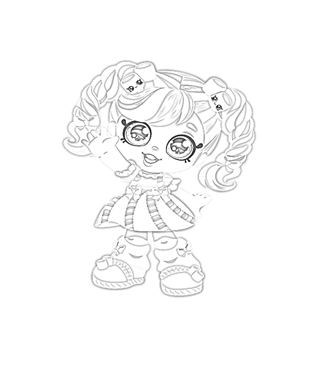 The Holiday Site: Coloring Pages of Kindi Kids Dolls Free ...