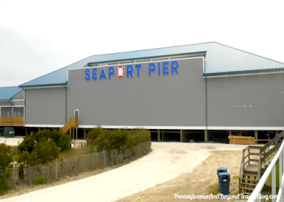 The Seaport Pier in North Wildwood, New Jersey