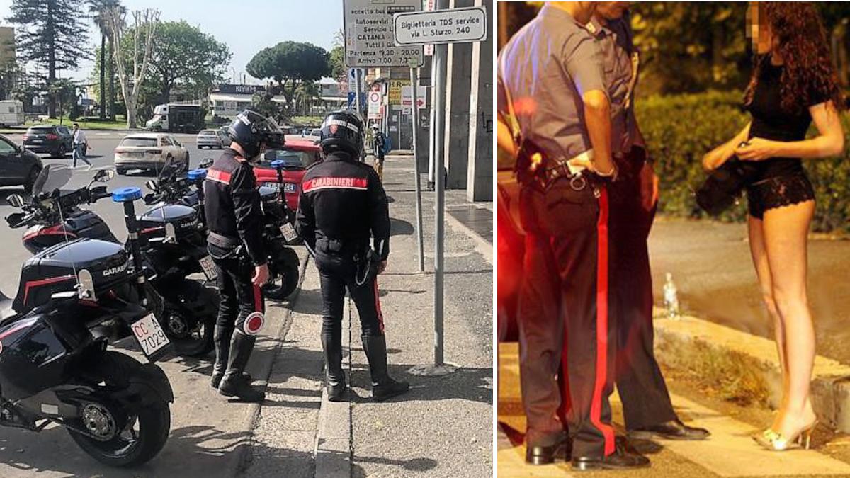 Prostituta rapinata da extracomunitari Carabinieri viale Libertà