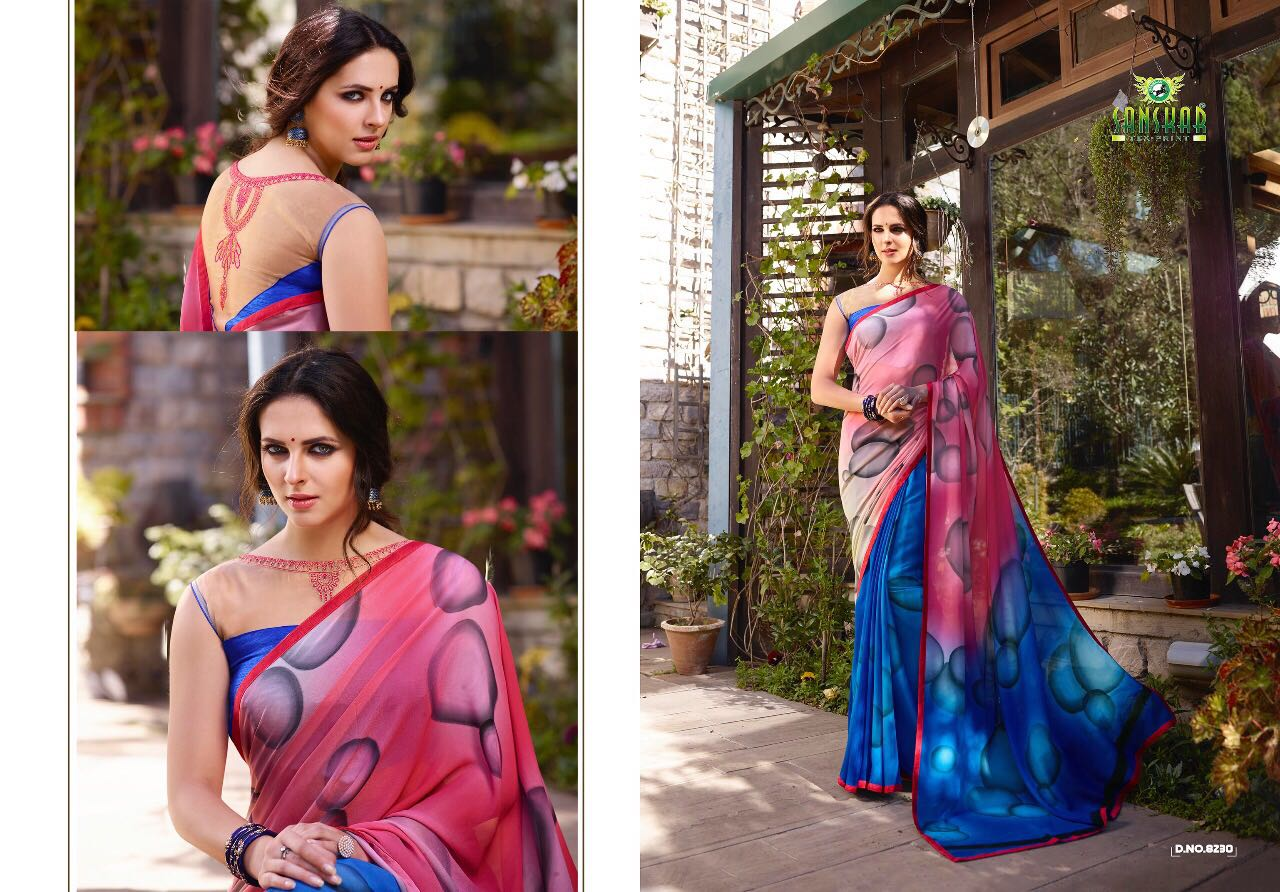 SABYA-5 – New Arrival Designer Georgette Saree For women
