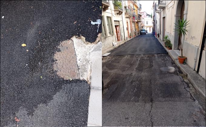 """Lavori sistemazione strade, Uniti per Polistena presenta interrogazione: """"Realizzati a ridosso delle elezioni e in difformità al progetto"""""""