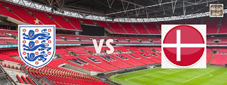 نتيجة المباراة بين منتخبي إنجلترا و دنمارك في نصف نهائي يورو 2020