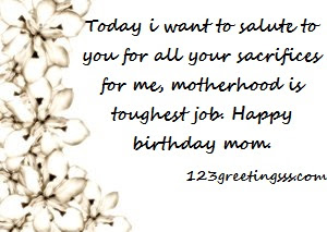 Happy Birthday  Messages For Best Mom