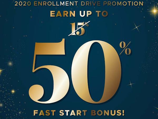 2020 Enrollment Drive Promotion
