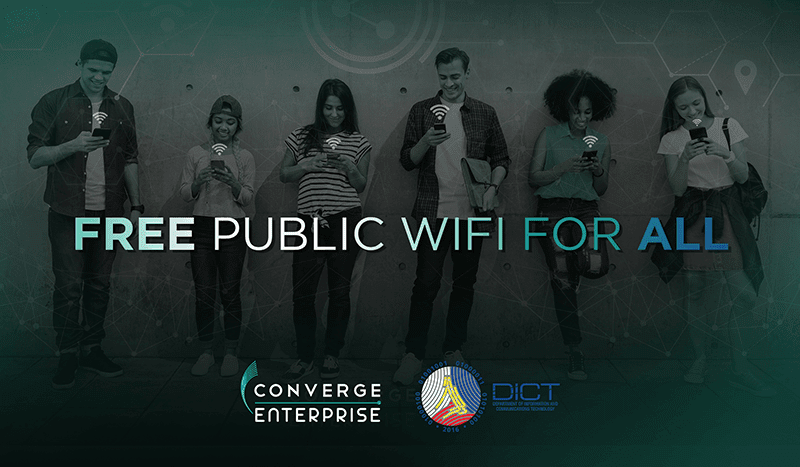 """Converge ICT completed infrastructures for DICT's """"Free WiFi for All Program"""""""