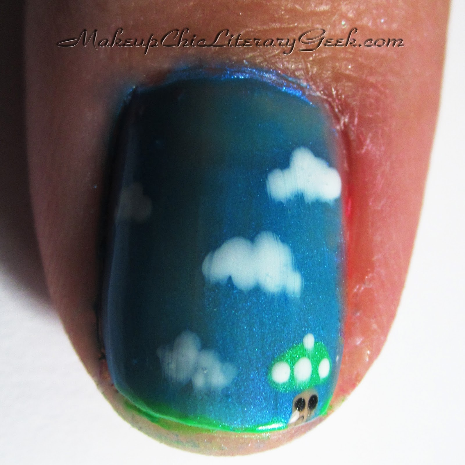 BeautyPopStop: Nail Art: Nintendo Mani