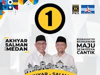 Sosok Petahana dan Soliditas PKS, Alasan Akhyar-Salman Unggul Secara Survei