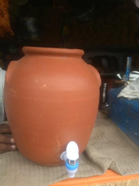 mud water drinking pot (man panai online)