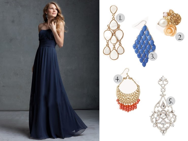 Maryfashionlove What Earrings To Wear With An Evening Dress