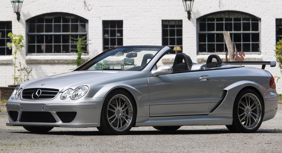 Forget the black series mercedes clk dtm amg was the for How much is a mercedes benz c63 amg