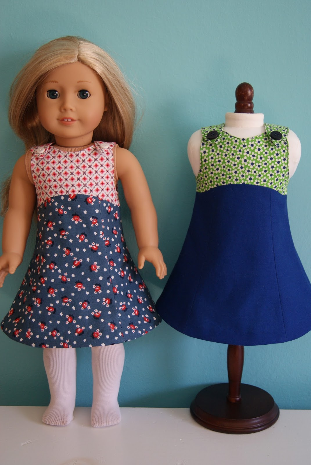 tea party doll dresses by nest full of eggs