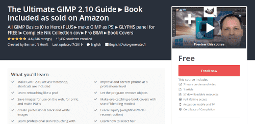 كورس The Ultimate GIMP 2.10 Guide