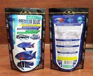pelet premium blue