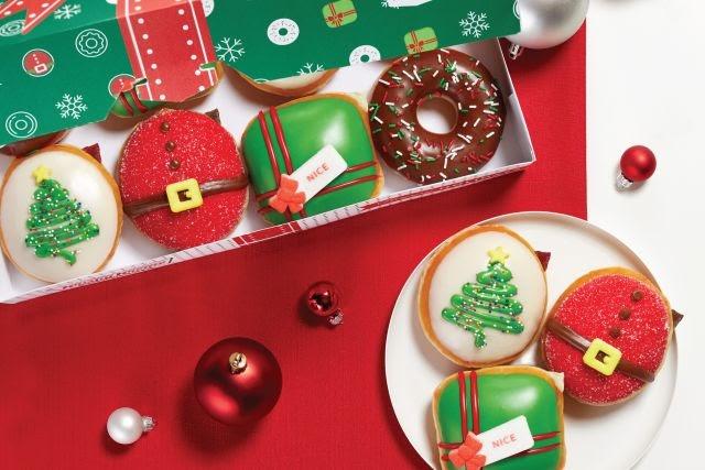 Krispy Kreme Reveals 2020 Holiday Donuts | Brand Eating