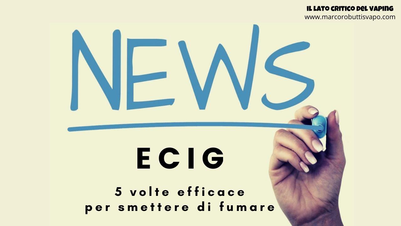 sigaretta elettronica smettere di fumare