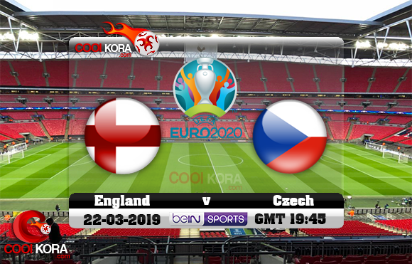مشاهدة مباراة إنجلترا والتشيك اليوم 22-3-2019 تصفيات يورو 2020