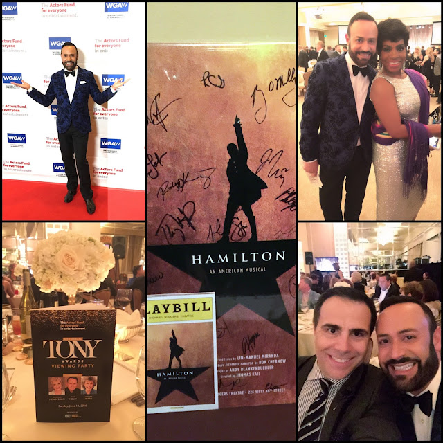 NICK APPEARANCES.....Attending The Actors Fund 20th Annual Tony Awards Viewing Party at the Beverly Hilton: Photo Recap + Red Carpet Video!