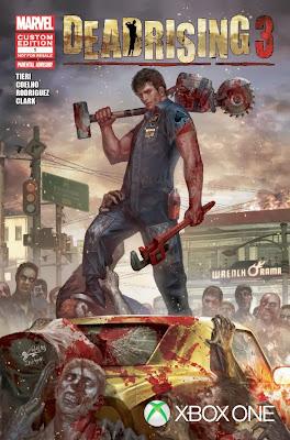 Dead Rising 3 (Marvel cover)