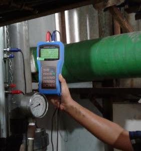 Prosedur Pengoprasian flowmeter portable Ultrasonic