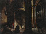 Liberation of St. Peter from Prison by Hendrick van Steenwyck II - Christianity, Religious Paintings from Hermitage Museum