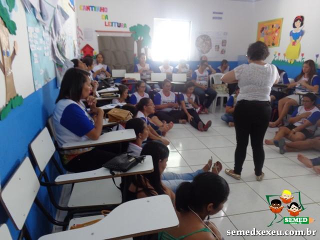 Jornada pedagógica - Educação Infantil - Xexéu