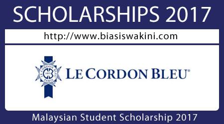 Malaysian Student Scholarships 2017