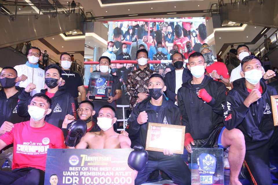 Turnamen Batam Fighter Club Digelar Sukses, Rudi Ucapkan Selamat Kepada Pemenang