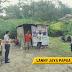 Sambangi Posko Siaga Covid19 Kampung Golomi,Anggota Sat Binmas Berikan Arahan.