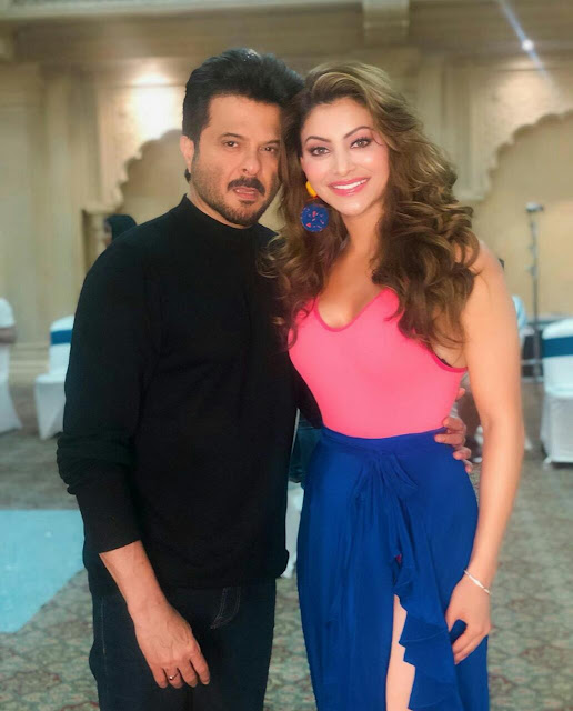 Urvashi Rautela with Various Bollywood Actors