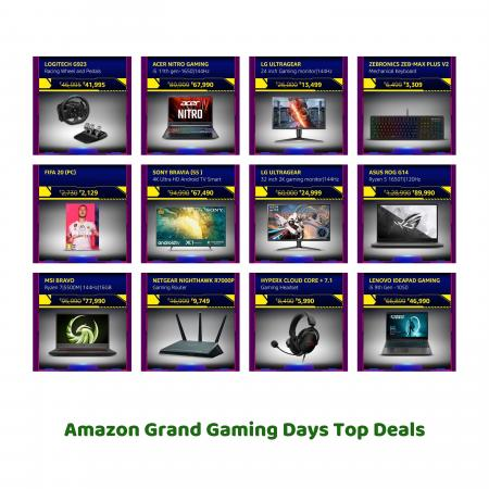 Amazon Grand Gaming Days Top Deals