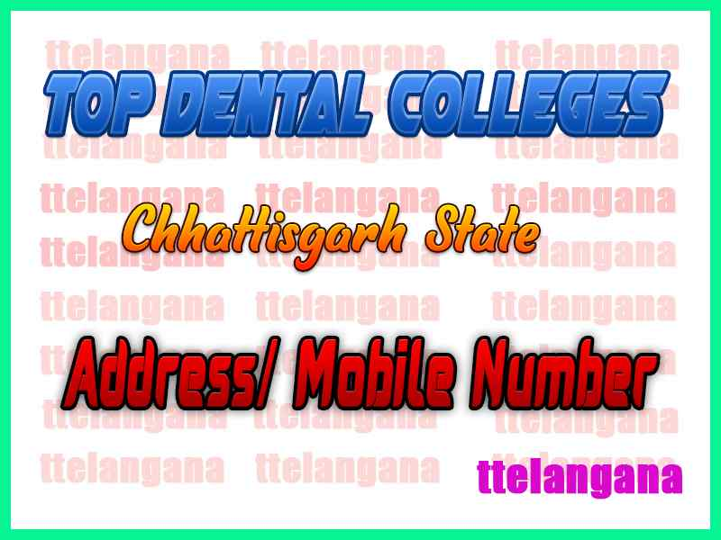 Top Dental Colleges in Chhattisgarh