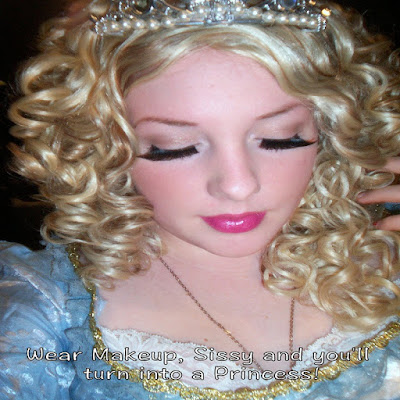 Turned into a Princess Sissy TG Caption - World TG Captions - Crossdressing and Sissy Tales and Captioned images
