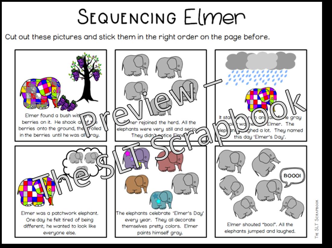 Elmer Elephant Story