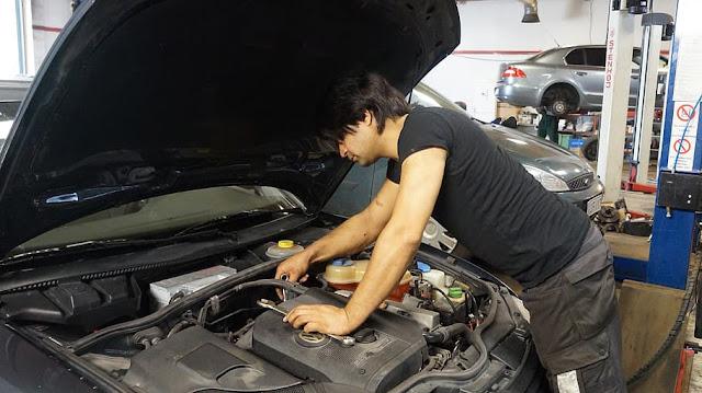 إصلاح السيارات