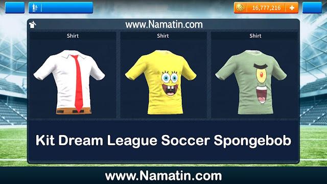 Kit Dream League Soccer Spongebob