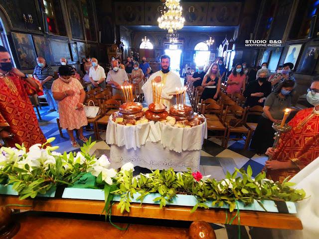 Ναύπλιο: Την Κοίμηση της Θεοτόκου γιόρτασαν στον ενοριακό ναό της Αγίας Τριάδος