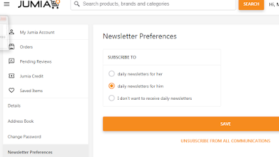 How To Turn Off Jumia Email Notificationa