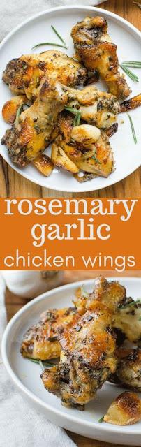 Delicious Rosemary Garlic Chicken Wings Recipe