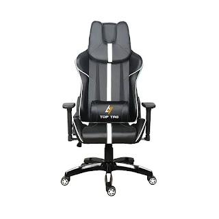Cadeira Gamer Top Tag HS101WTI Preta E Branca