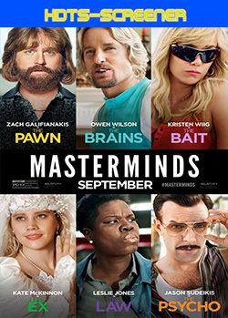 Masterminds (De-Mentes maestras) (2016) HDTS-LiNE