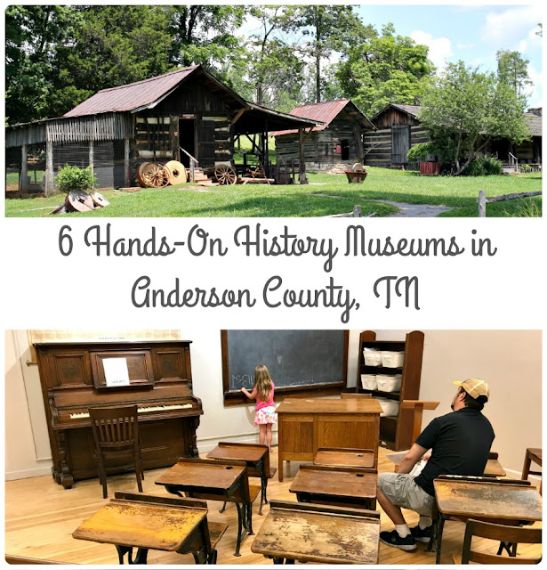These 6 Hands-On History Museums in Anderson County, Tennessee really bring the history of this southern Appalachian region & its people to life.