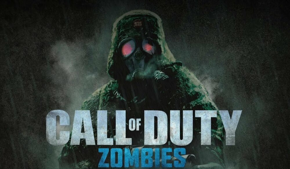 Call of Duty game with zombies