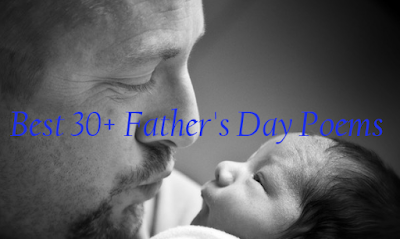 Best Father's Day Poems 2017