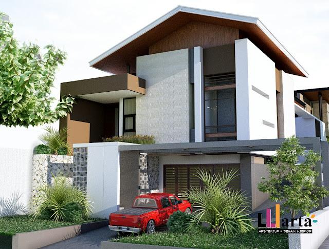 Desain rumah tinggal lampung