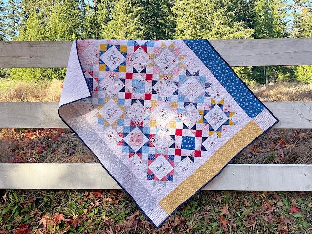 A Bit of Scrap Stuff Blog #ABitofScrapStuff #RileyBlakeDesigns #Quilt #PureDelightFabric #Handmade