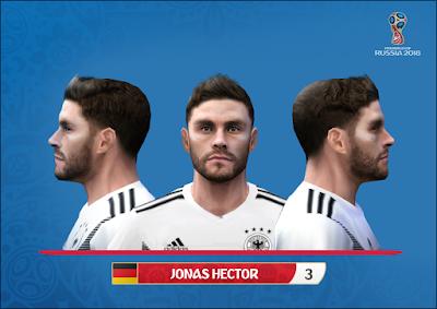 PES 6 Faces Jonas Hector by Alegor